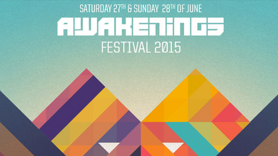 Bus naar Awakenings Festival