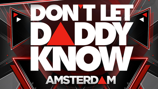 Bus naar Don't let daddy know 2018