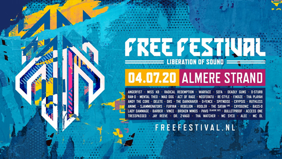Bus naar Freefestival the harderstyles 2017