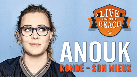 Bus naar LIVE on the BEACH - Anouk