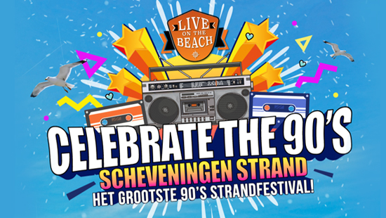 Concertvervoer naar LIVE on the BEACH - Celebrate the 90