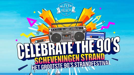 Concertvervoer naar LIVE on the BEACH - Celebrate the 90s