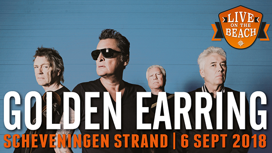 Bus naar LIVE on the BEACH - Golden Earring