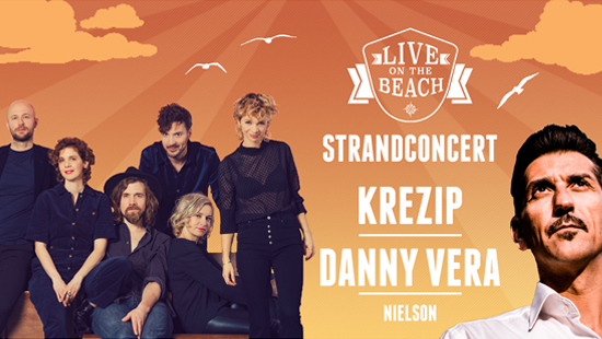 Concertvervoer naar KREZIP - LIVE on the BEACH