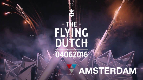Bus naar The Flying Dutch 2016 - Amsterdam