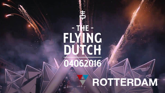 Bus naar The Flying Dutch 2016 - Rotterdam