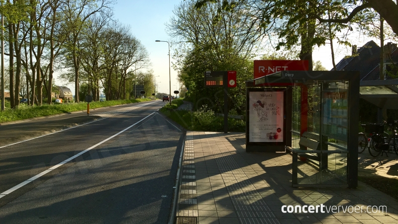 Opstapplaats bus Broek in Waterland